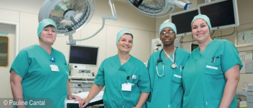 Operating rooms of the CHU Brugmann : behind the scenes