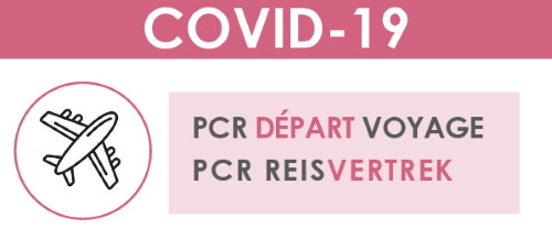 Covid-19: PCR test at CHU Brugmann in case of departure for a trip abroad