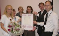 Brugmann's maternity officially designated 'baby-friendly' on 11/05/2009